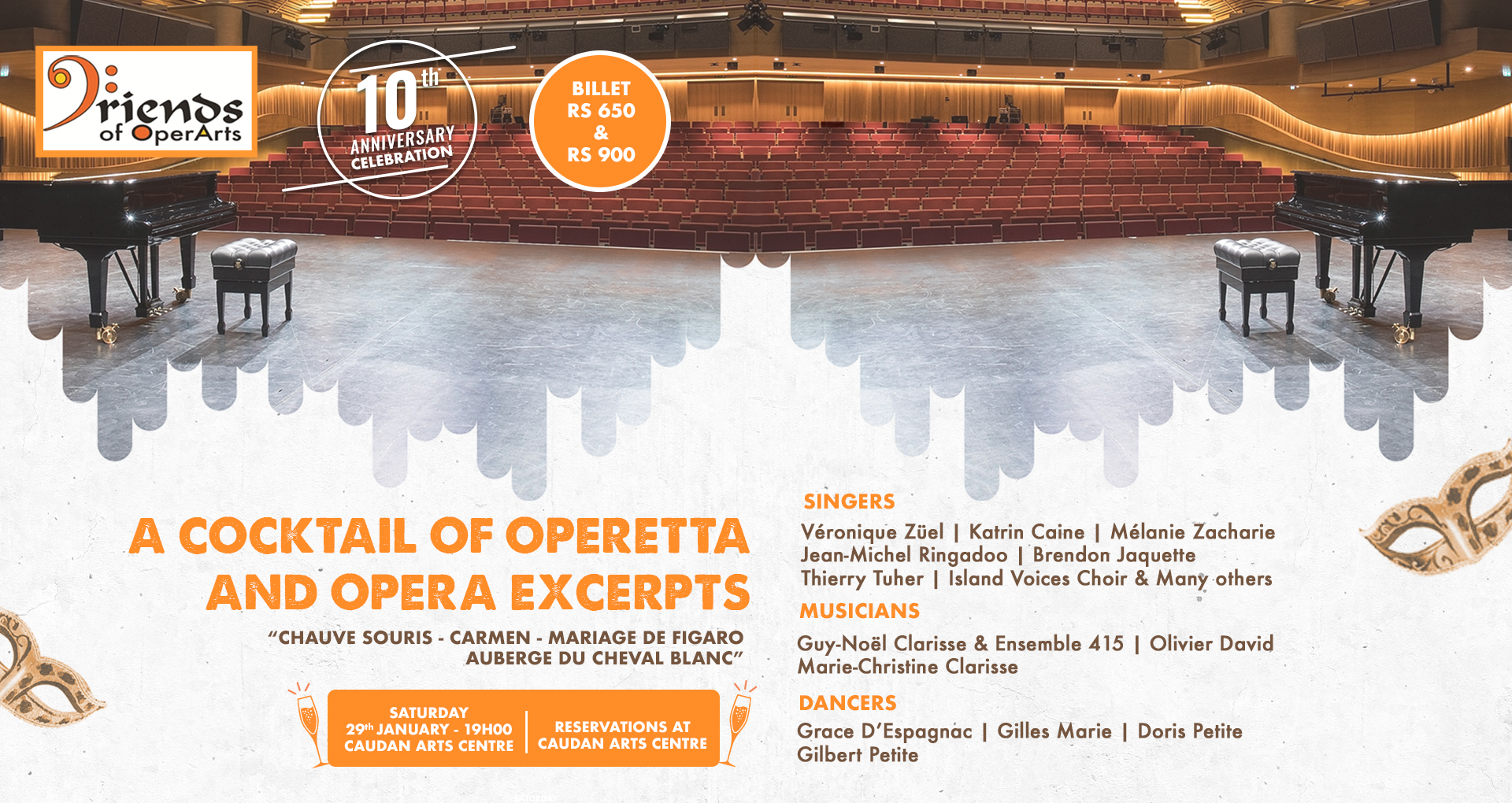 A cocktail of Opera and Operetta excerpts